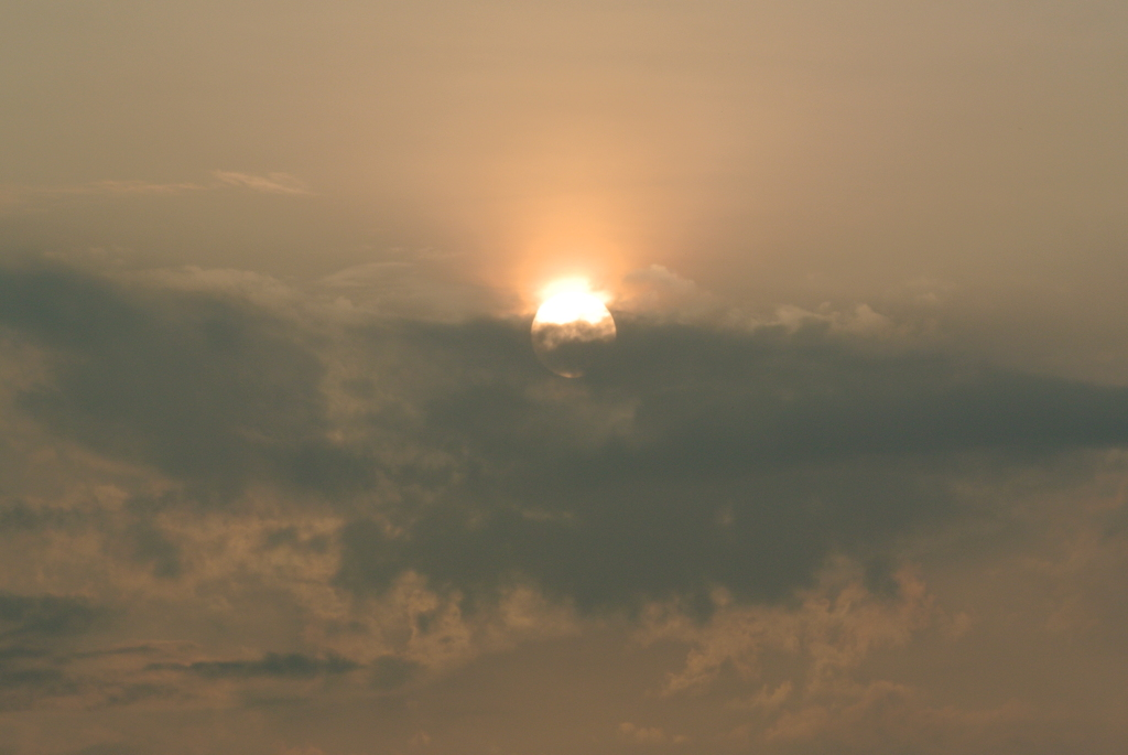一昨日の朝陽