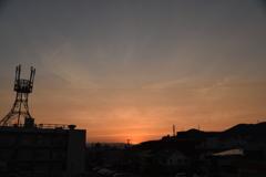 夕焼け 2021.06.07