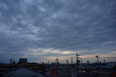 本日の朝焼け その後 9/1