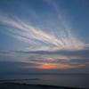 夕刻の日本海