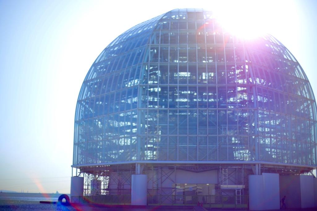 球体と拡散する光