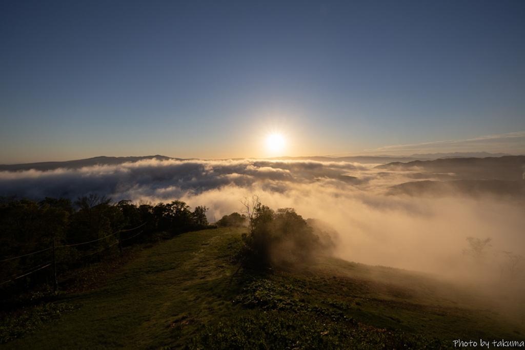 神威岳の雲海