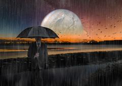 浄化の雨降る惑星