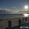啄木公園から見る砂浜