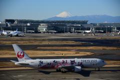 富士山とTOKYO2020