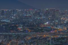コスモタワーからの大阪の夜景