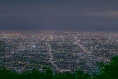 生駒山からの大阪の夜景