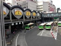 東急東横線の旧渋谷駅 2013.03.17