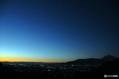 落日のあと