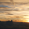 富士山五合目の日没2012-⑧