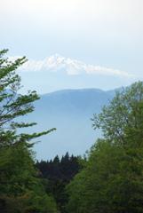 雪解け富士山&南アルプス ③