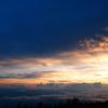 富士山五合目の日没2012-⑦