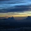 富士山五合目の日没2012-⑥
