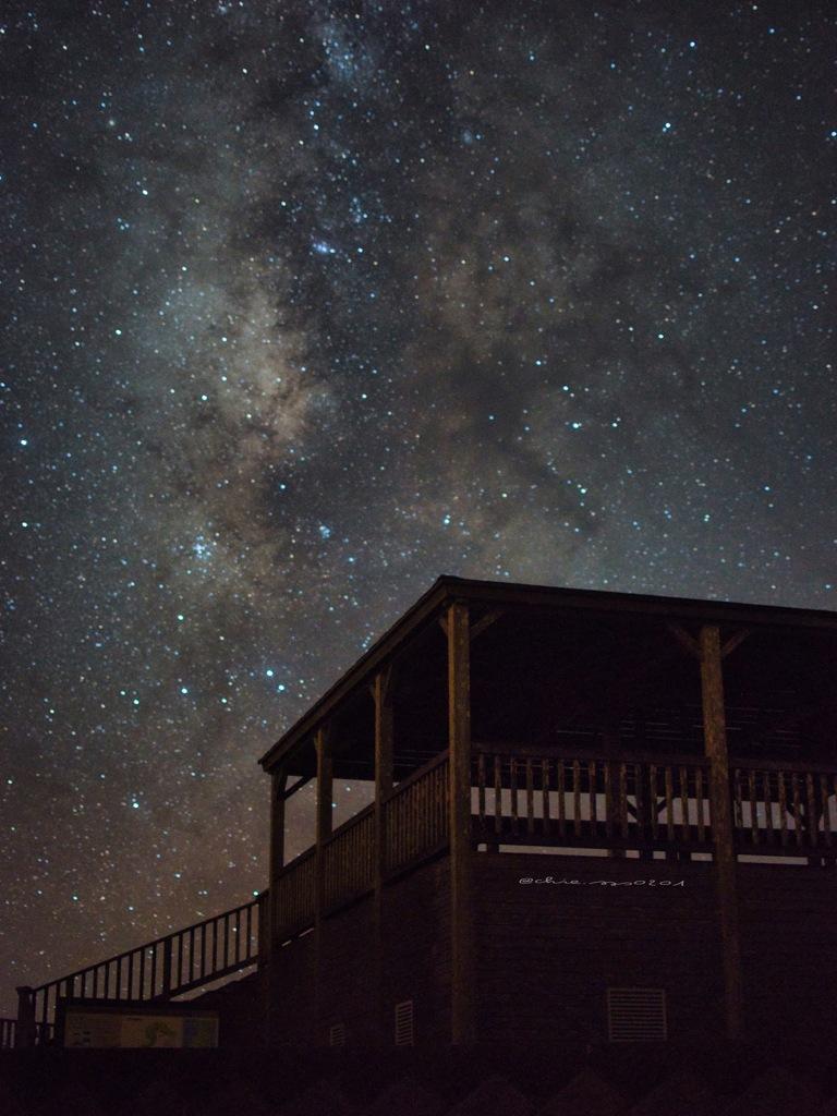 星宙の下で