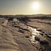湧別川の朝