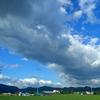わた雲と夏空