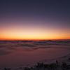 冬朝の雲海