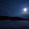 雪原の満月2