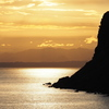 立待岬の夕景