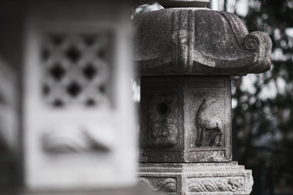 五霊神社にて