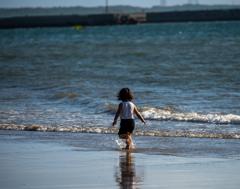 渚を駆ける Warabe