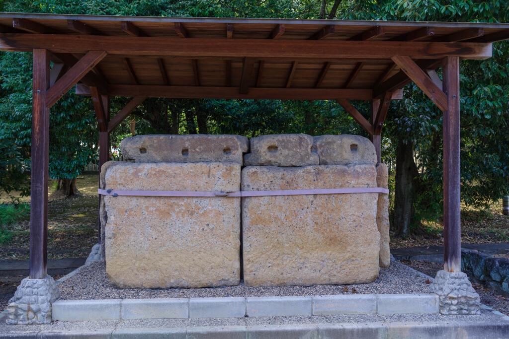 ヒチンジョ池西古墳石棺