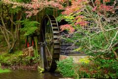 水車小屋の風景4