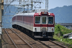松塚駅から急行を撮る