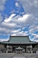遊行寺の本堂。