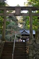 川尻八幡宮の本殿:01