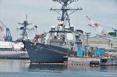アメリカ海軍ミサイル駆逐艦「カーティス・ウィルバー」その2