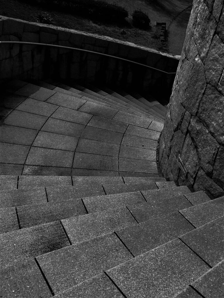 砦のらせん階段:中世ヨーロッパ(うそ)
