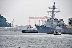 アメリカ海軍ミサイル駆逐艦「マッキャンベル」その1