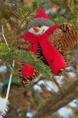 クリスマスツリーの飾り物