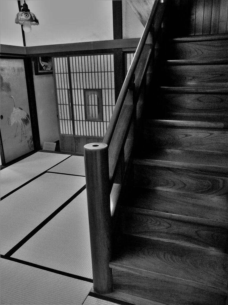 古民家岸邸:階段のある部屋