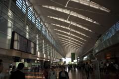 羽田空港:ロビー