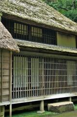 古民家小池家:屋敷の裏側