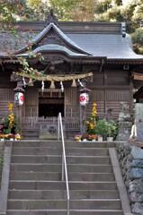 川尻八幡宮の本殿:02