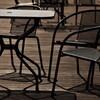 静かすぎるオープンカフェ