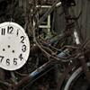 粗大ゴミ:文字盤 自転車