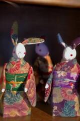 ウサギ人形