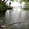 震生湖 9:釣り人たち