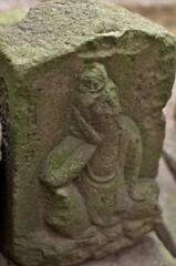鈴鹿明神社:それなりに古い石仏