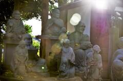 長松寺:仏さまたちを撮っているのに幽霊とはちょこざいな!!