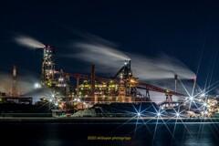 工場夜景 名港