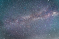 天の川 少し流星群