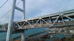 瀬戸大橋×列車(3)