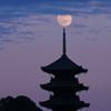 月遊び:月を載せる