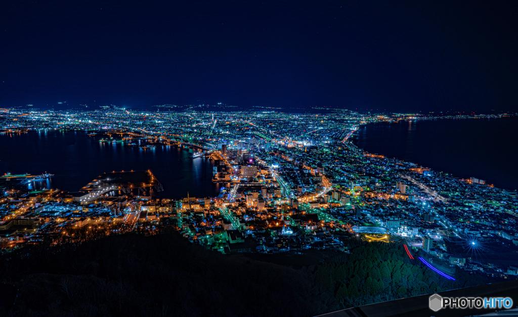 函館の夜景2