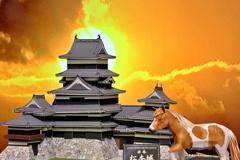 紙の城 松本城②